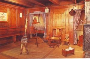 Деревенская комната