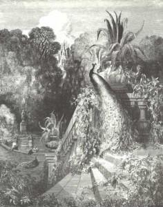 Иллюстрация к сказке Лафонтена