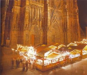 Рождественская ярмарка на Соборной площади