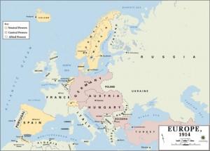 Europe en 1914