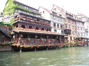 Ресторан в районе Petite France