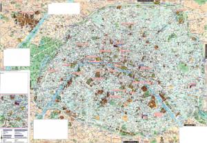 Карта Парижа 2
