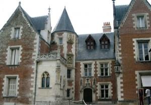 Дом, где да Винчи окончил свои дни в 149 году