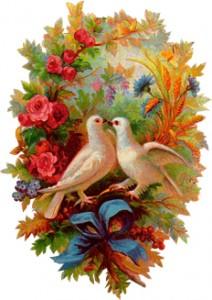 Февраль считался брачной порой птиц