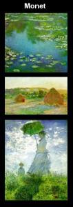 Tableaux de Monet