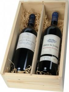 Знаменитое французское вино провинции Bordeaux
