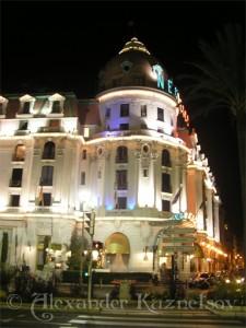 Hotel Negresco в Ницце
