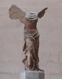 Скульптура богини Победы