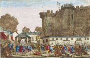 Prise de la Bastille le 14 juillet 1789, collection De Vinck (XVIIIe siècle)©Rmn