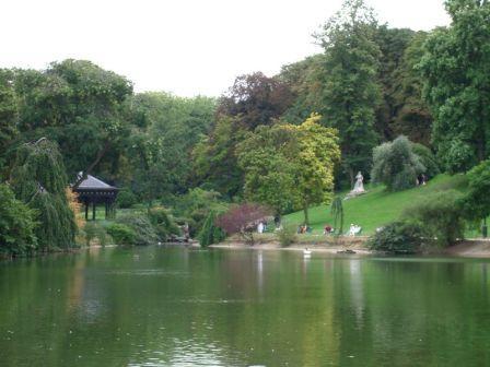 Le lac du Parc Montsouris