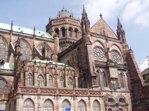 кафедральный страсбургский собор