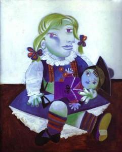 майя с куклой