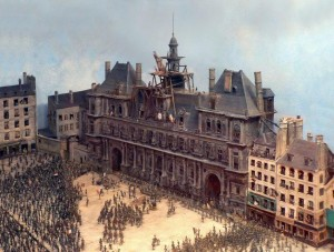 Макет старого Парижа