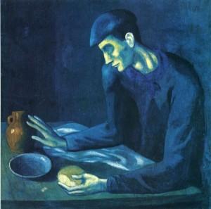 пабло пикассо голубой период