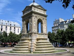 фонтан невинных в париже