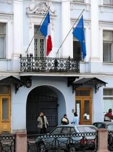 французское консульство в россии