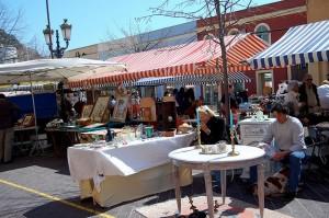 продуктовый и цветочный рынок Cours Saleya
