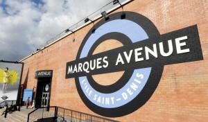 деревня распродаж Marques Avenue L'Ile Saint Denis