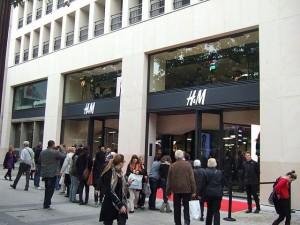 H&M в париже