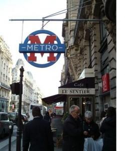 квартал Сентьер в Париже