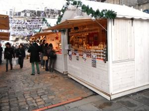 парижская новогодняя ярмарка