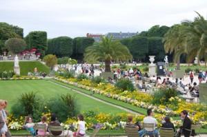 сад в люксембургском дворце