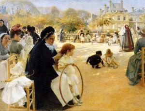 люксембургский дворец при марии медичи