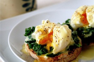 готовое яйцо-пашот