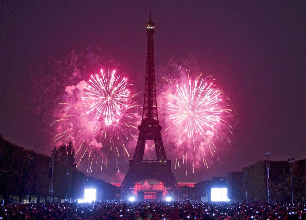 Как отмечается новый год в франции