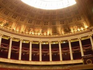 бурбонский дворец изнутри
