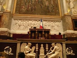 зал заседаний в бурбонском дворце
