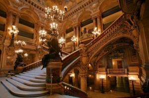 роскошный интерьер оперы гарнье