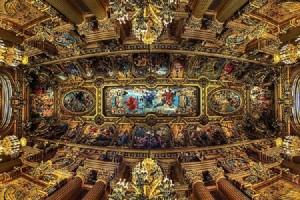потолки гранд оперы