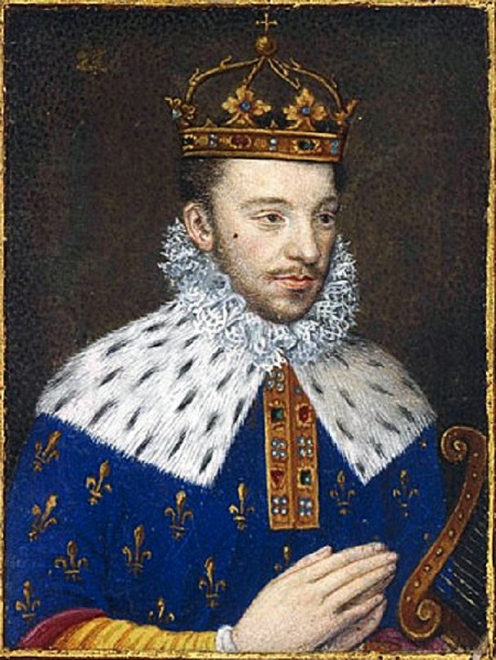 король Генрих III Валуа