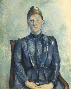 портрет мадам сезан