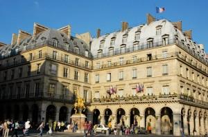 отель Regina Paris в париже
