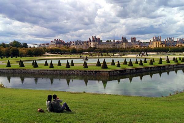 парк фонтенбло и его окрестности
