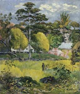 картина пейзаж гогена