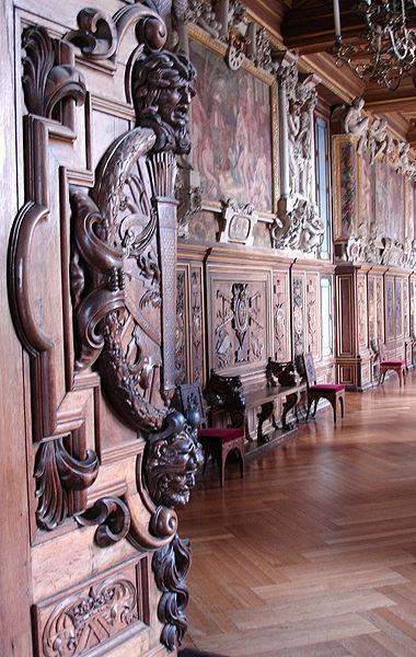 галерея франциска 1 фонтенбло