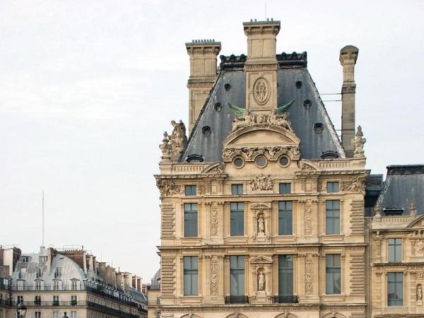 Национальная галерея Жё-де-Пом вид сбоку