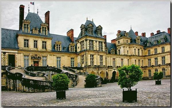 фонтенбло двор генриха париж