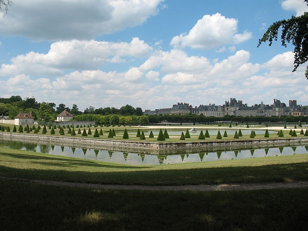 парк фонтенбло