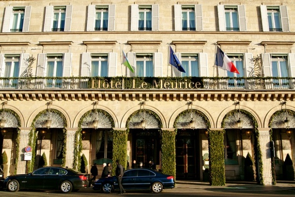 гостиница Le Meurice в париже