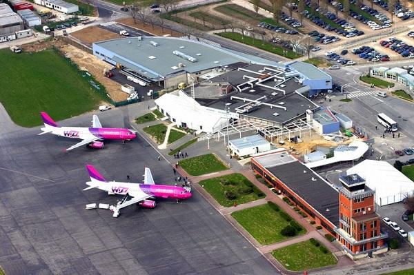 аэропорт Бове-Тилль с высоты птичьего полета