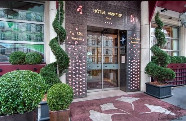 бар в отеле Ampere