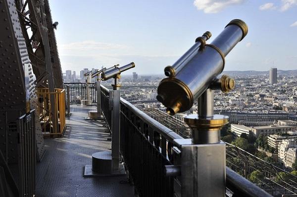 смотровая площадка эйфелева башня