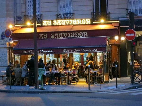 знаменитый бар Au Sauvignon