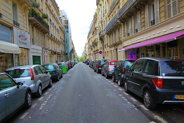 парковки париж