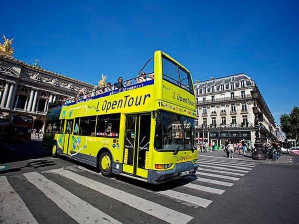 «Paris L'OpenTour» автобусные экскурсии